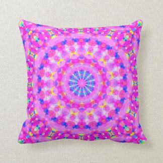 Pink Kaleidoscope Meditation Pillow
