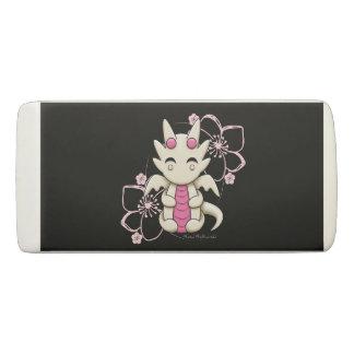 Pink Kawaii Dragon Wedge Eraser