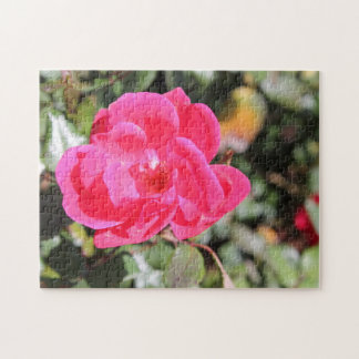 Pink Kentucky Flower Puzzle