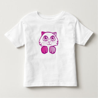 Pink Kitten Cat T-Shirt