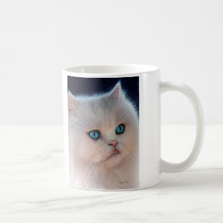Pink Kitty Drawing Mug