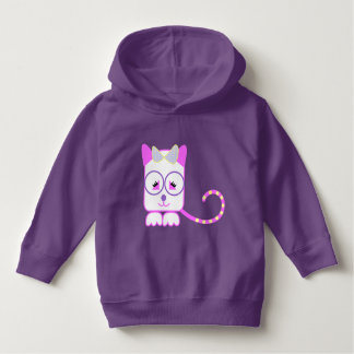 Pink Kitty Toddler Pullover Hoodie