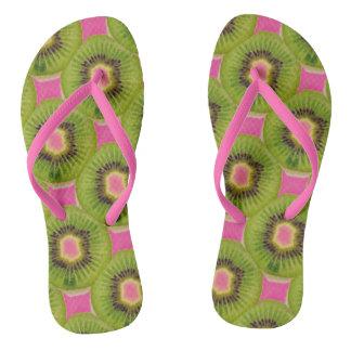 Pink Kiwis 4Phoebe Flip Flops