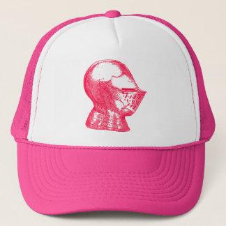 Pink Knight Medieval Armor Helmet Knights Trucker Hat