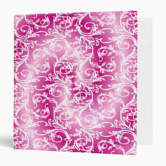 Pink Lace Dream 3 Ring Binders