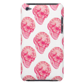 Pink lace sugar skull iPod Case-Mate cases