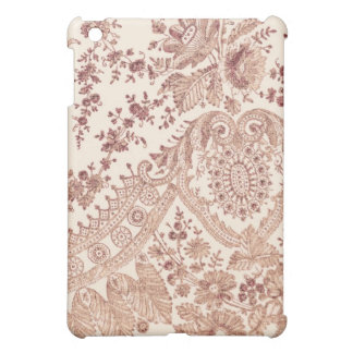 Pink Lace With Roses Case For The iPad Mini