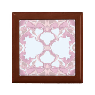Pink Lacy Kaleidoscope Pattern Gift Box