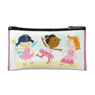 pink ladies cosmetic bag
