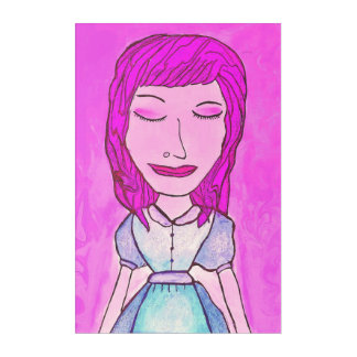 Pink Lady Acrylic Wall Art