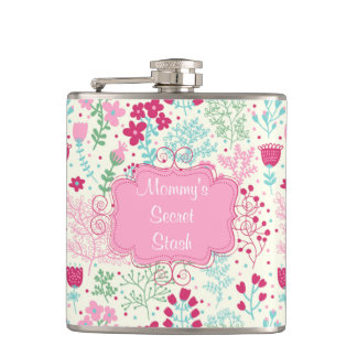 Pink Lady Hip Flask