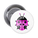 Pink Ladybug Pin