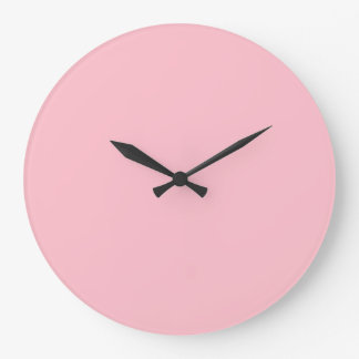 Pink Large Clock