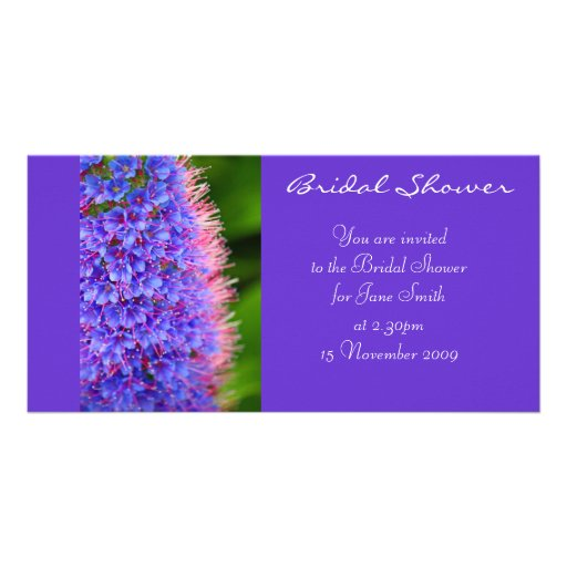 Pink Lashes - Bridal Shower /Wedding Invitation Picture Card
