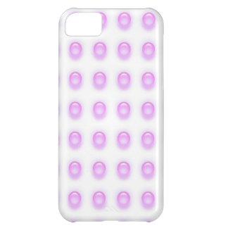 Pink Leds on White iPhone 5 Cover