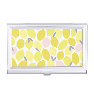 Pink Lemonade Business Card Holder