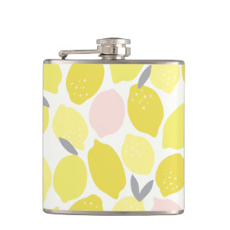Pink Lemonade by Origami Prints Flask