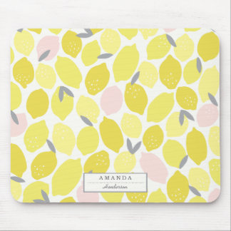 Pink Lemonade by Origami Prints Mouse Pad
