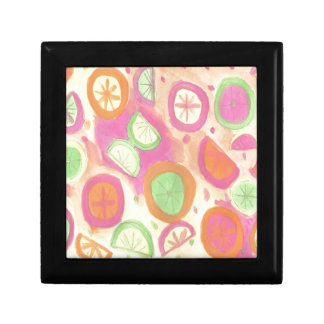 Pink Lemonade Pattern Gift Box
