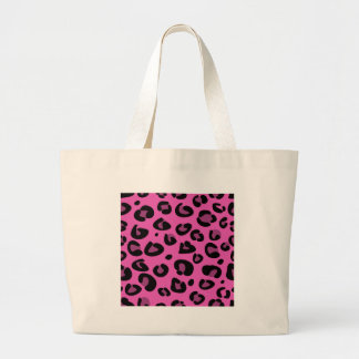 PINK LEOPARD DESIGN COLLECTION LARGE TOTE BAG