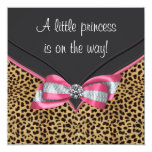 Pink Leopard Princess Baby Shower
