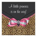 Pink Leopard Princess Baby Shower