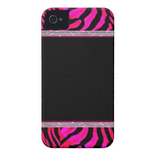 Pink Leopard Print Blackberry Bold Cases