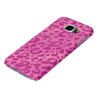 Pink Leopard Print Galaxy S6 Cases