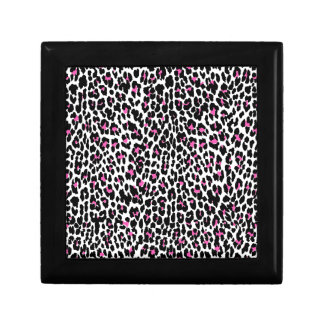 pink leopard print gift boxes