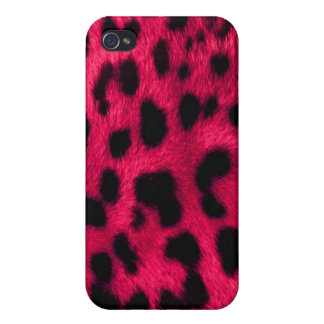Pink Leopard Print iPhone 4/4S Covers