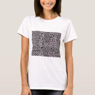 pink leopard print T-Shirt