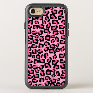 Pink leopard spots OtterBox symmetry iPhone 7 case