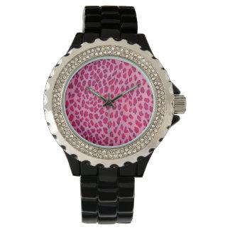 Pink Leopard Watch