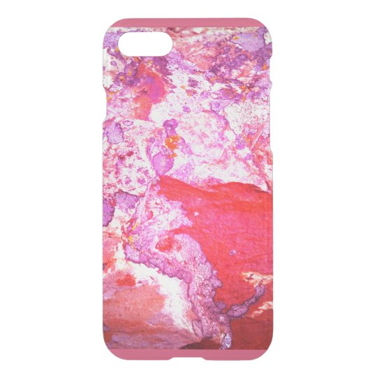 pink lichen phone cover