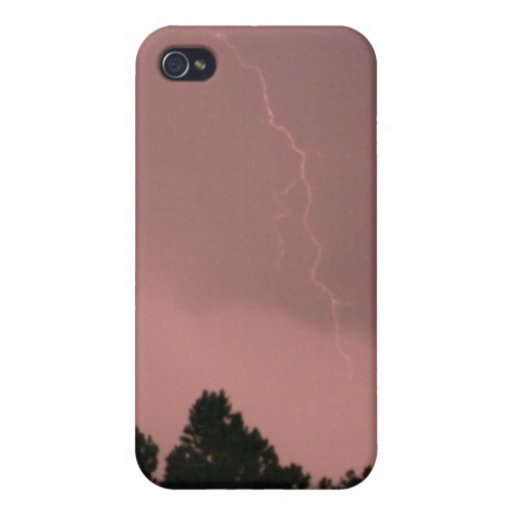 Pink Lightning 3 4/4s  Cover For iPhone 4