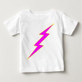 Pink Lightning Bolt Baby T-Shirt