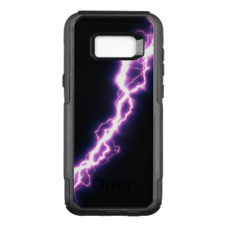 Pink Lightning Bolt OtterBox Commuter Samsung Galaxy S8+ Case
