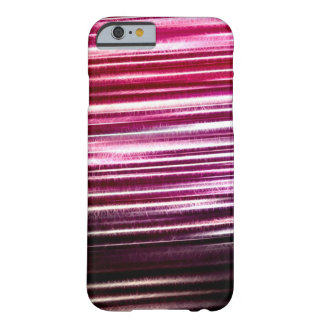 Pink Lightning Flash Fractal Barely There iPhone 6 Case