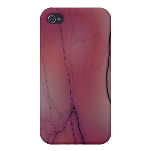 Pink Lightning iPhone 4/4S Cover
