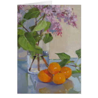 Pink Lilacs Card