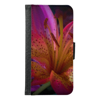 Pink Lily - Beautiful Mess Samsung Galaxy S6 Wallet Case