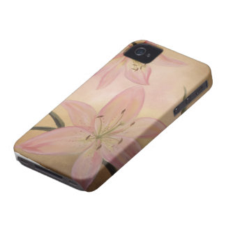 Pink Lily iPhone 4/4S Case