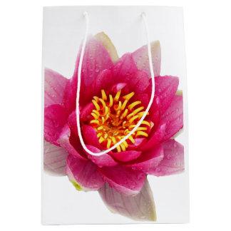 Pink Lily Medium Gift Bag