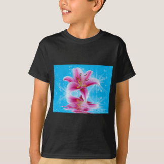 Pink Lily Sparkle T-Shirt