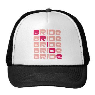 Pink Line Bride Gifts Hat