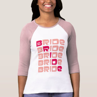 Pink Line Bride T-shirts Apparel