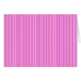Pink lines card
