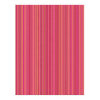 Pink lines postcard