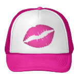 Pink Lips Hat