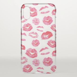 Pink Lipstick LipSense iPhone X Case